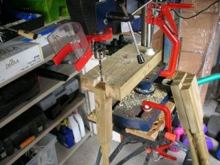 jig for drilling spindles