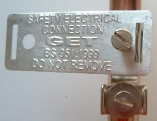 safety electrical connection- do not remove