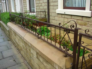 renovated railings