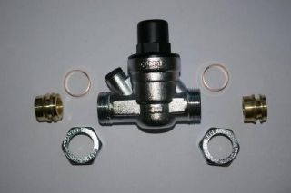 pressure reducing valve components